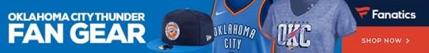 Shop Oklahoma City Thunder Gear at Fanatics.com
