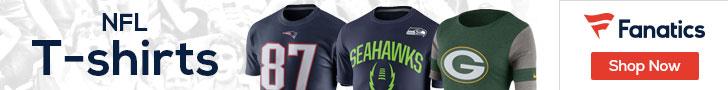 Shop NFL T-shirts at Fanatics.com