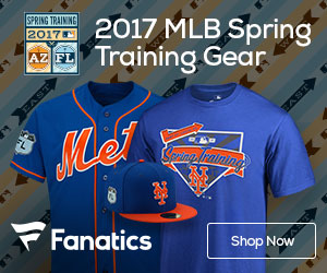 Shop for New York Mets Spring Training Gear at Fanatics.com