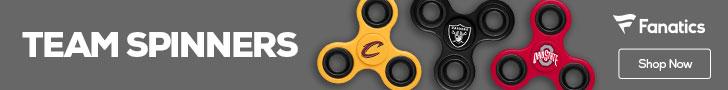 Shop for Team Logo Spinners at Fanatics.com