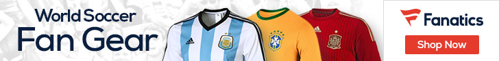 Shop for World Soccer Fan Gear at Fanatics.com