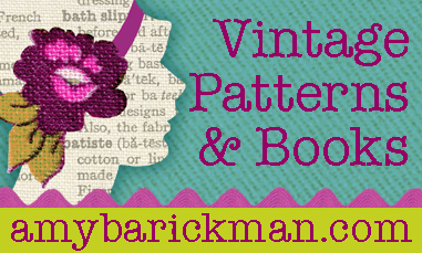 vintage patterns and books at AmyBarickman.com