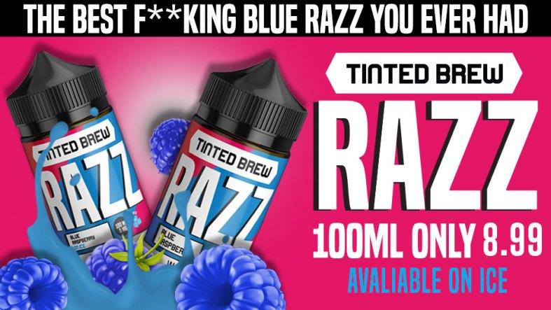 RZZ Blue Raspberry 100ml On Sale $7.99