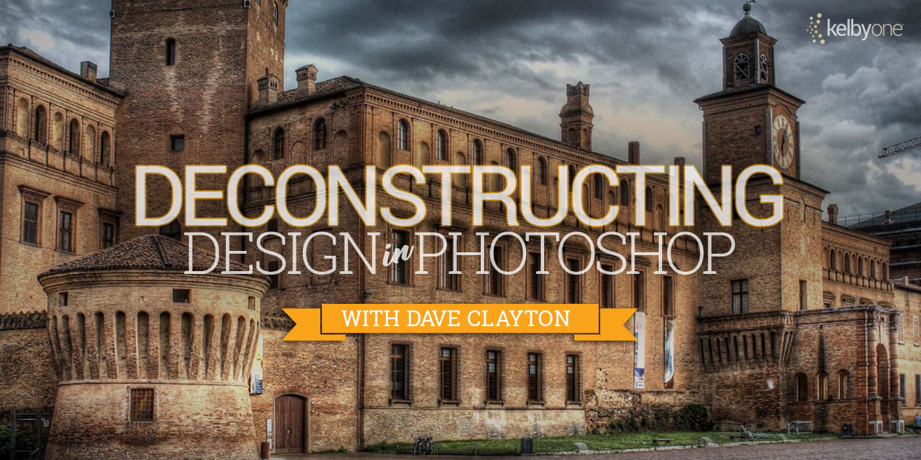 Dave Clayton new online training course. Deconstructing Design in Photoshop.