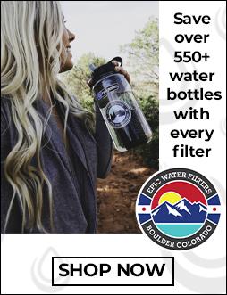 Filtered Water Bottle Filtration