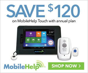 $120 Off MobileHelp Touch with Annual Plan at MobileHelp.com, no coupon needed!