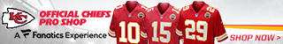 Shop Jerseys at the Official Store of the Kansas City Chiefs