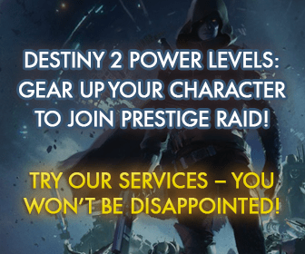 Destiny 2 Power Levels: Gear Up Your Character To Join Prestige Raid. Try our services - you won't be disappointed!