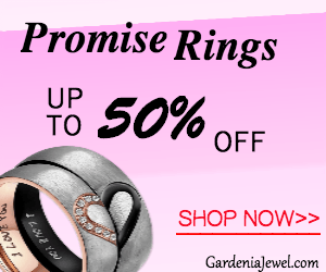 50% Off on All Promise Rings