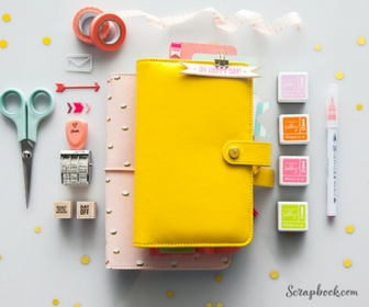 Get Organized with Scrapbook.com Planners