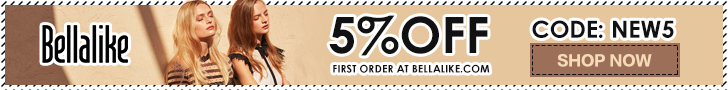 5% OFF First Order Site Wide at bellalike.com