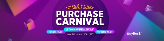 BuyBest Crazy Double Eleven Purchase Carnival