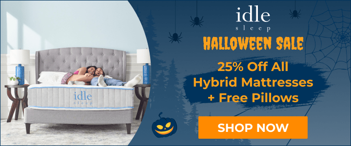 Halloween Sale: 25% Off Any Hybrid Mattress + 2 Free Pillows