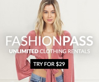 FashionPass Unlimited Clothing Rentals. Try for $29