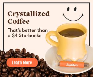 Crystallized Coffee - Sudden Coffee 300x250