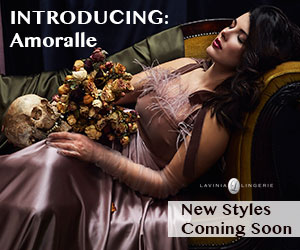 NEW Luxury Line - Hand-Made Lingerie By Amoralle Available On Lavinia Lingerie