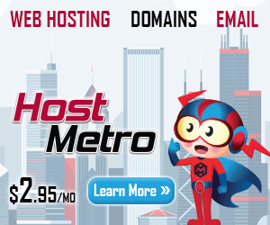$2.95/mo fixed-rate web hosting - only at HostMetro
