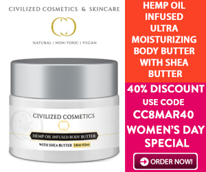 40% DISCOUNT HEMP INFUSED SKIN PRODUCTS