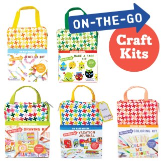 On the Go Craft Kits by Kid Made Modern
