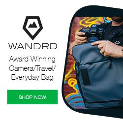 Wandrd Travel + Camera Pack