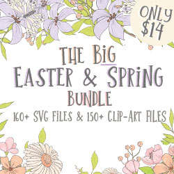 ONLY $11.20 | The Big Easter and Spring Bundle