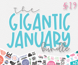The Gigantic January Bundle $19 ONLY