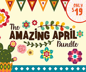 20% OFF The Amazing April Bundle | Now ONLY $15.20