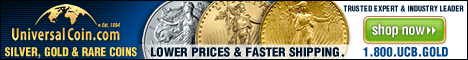 Buy Silver, Gold & Rare Coin from Universal Coin & Bullion