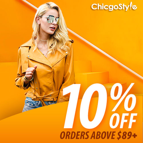 Chicgostyle 10% Off Orders Above $89+. Buy Now!