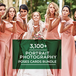 3,100+ Portrait Photography Poses Cards Bundle