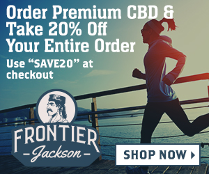 "Save 20% on CBD Products with ""Save20"""