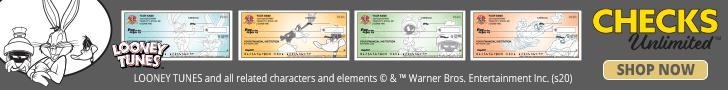 LOONEY TUNES checks at Checks Unlimited