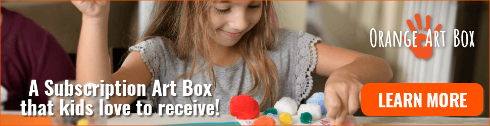 Orange Art Box - Subscribe Now