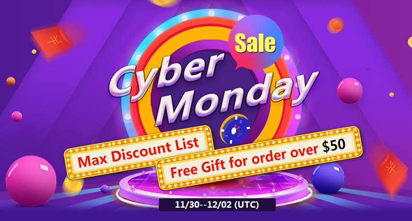 Vapeciga Cyber Monday Sale after Black Friday, get the lowest price for many items!