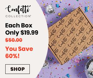 Confetti Collection Box save 60%