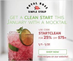 Celebrate the New Year with 25% off $75+ orders. Use code StartClean! (valid 1/1/20 - 1/31/20)