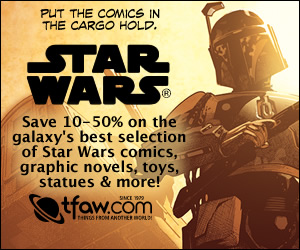 Save 10-50% on Star Wars Comics, Graphic Novels, Toys & Statues