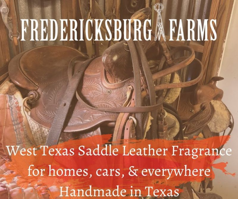 West Texas Saddle Leather Fragrance for homes, cars, and everywhere
