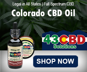 Colorado CBD Oil - 43 CBD