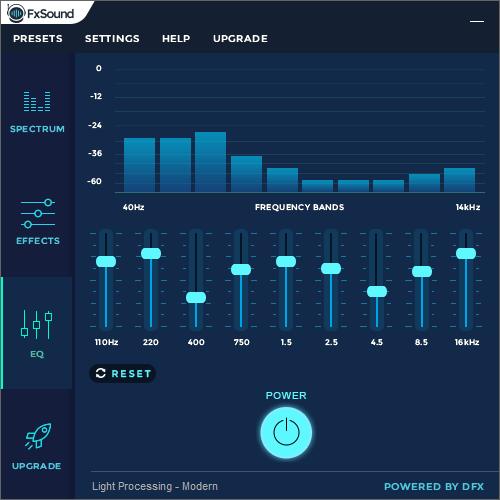 FXSound equalizer graphic audio sound booster