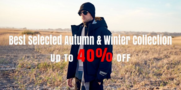 40% Off For All Items In Fall / Winter Collection
