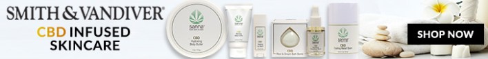 Shop for CBD Skin Care Products Smith and Vandiver