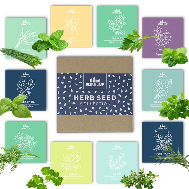 Urban Leaf Herb Seed Collection