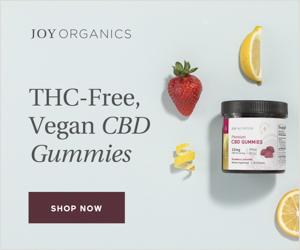 THC Free, Vegan CBD Gummies