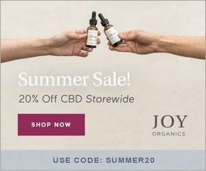 Save 20% Off Premium CBD