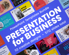 PowerPoint Presentation Template Bundle Thumbnail