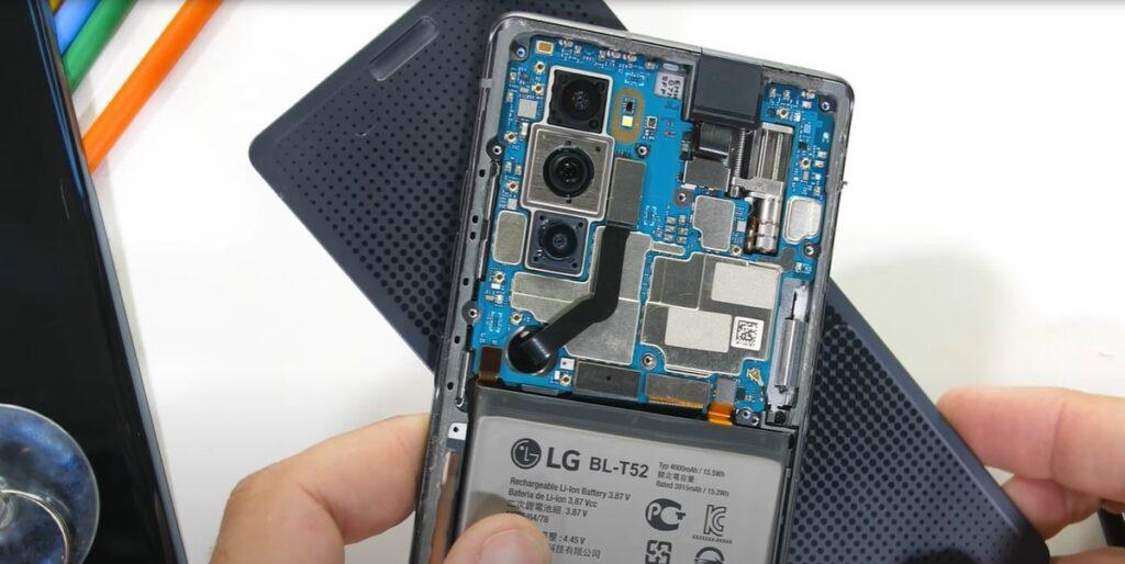 Çift ekranlı LG Wing parçalandı! Ekranlar ayrıldı 2