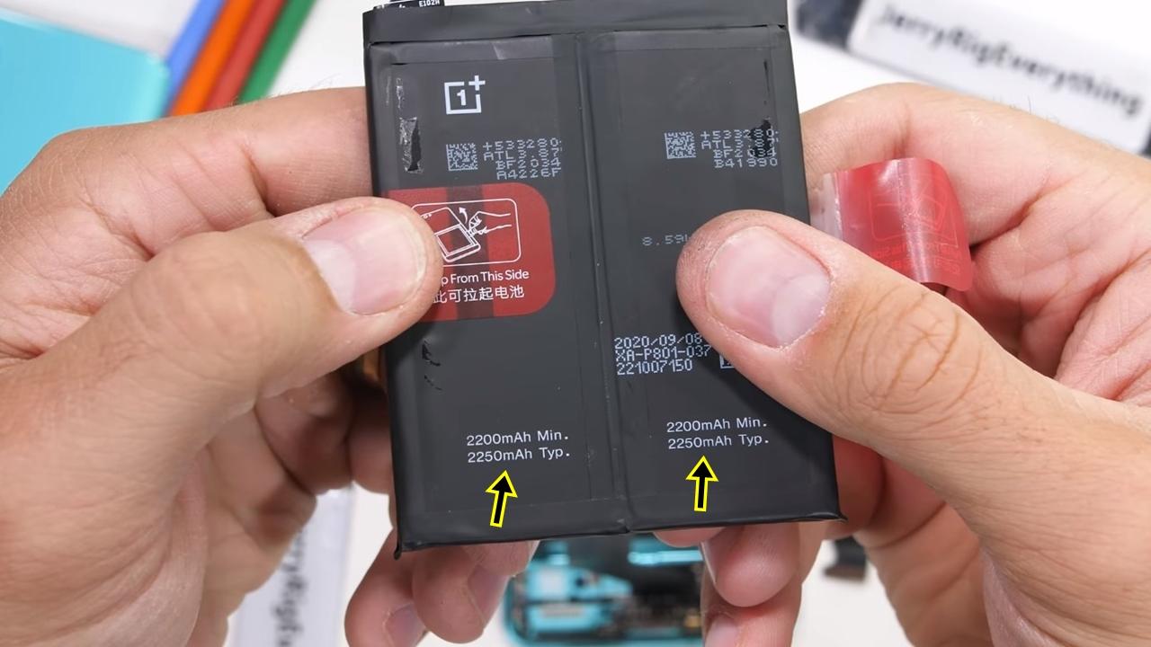 OnePlus 8T kesimlerine ayrıldı: Çift batarya! 2