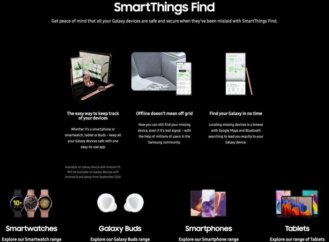 Samsung, SmartThings Find yazılımını duyurdu 2