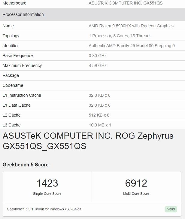 amd ryzen 9 5900hx masaustu islemcilere rakip 1 - AMD Ryzen 9 5900HX masaüstü işlemcilere rakip!